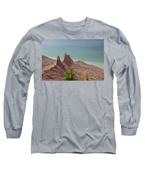 Chimney Bluffs Long Sleeve T-Shirt