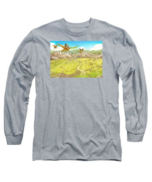 Chiricahua Mountains Long Sleeve T-Shirt by Reynold Jay