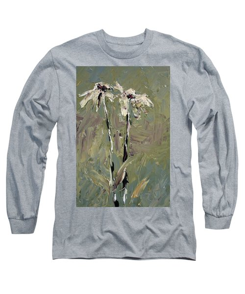 Cone Flowers Long Sleeve T-Shirt by Jim Vance