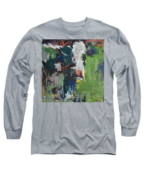 Cow Painting Long Sleeve T-Shirt