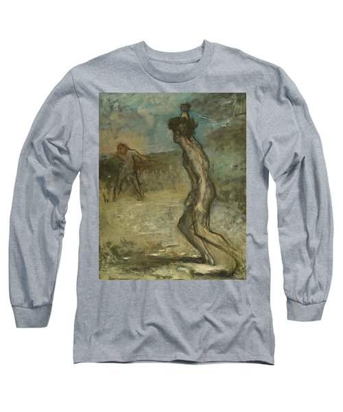David And Goliath Long Sleeve T-Shirt
