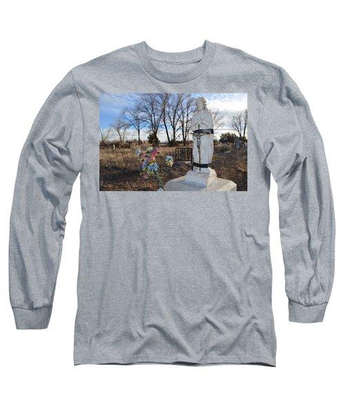 Electrical Tape Jesus Long Sleeve T-Shirt