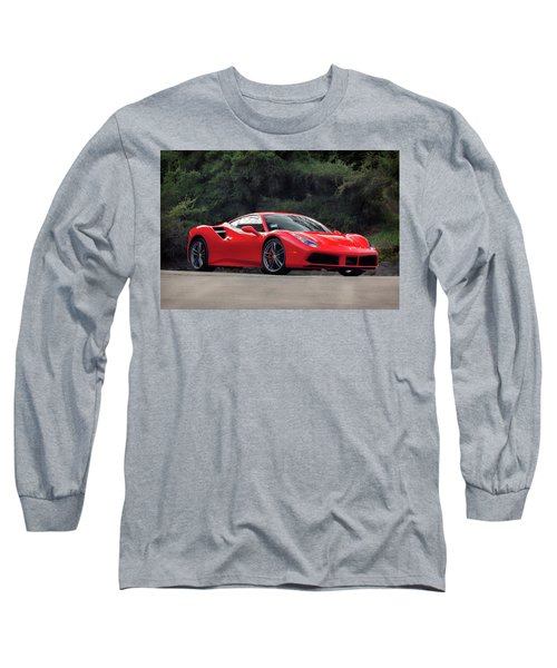 #ferrari #488gtb Long Sleeve T-Shirt