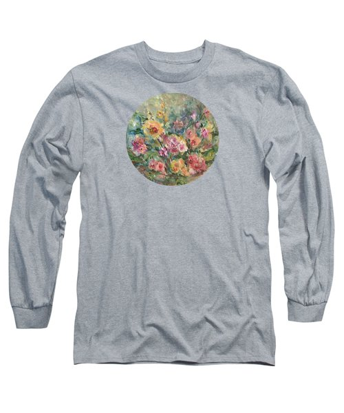 Floral Painting Long Sleeve T-Shirt