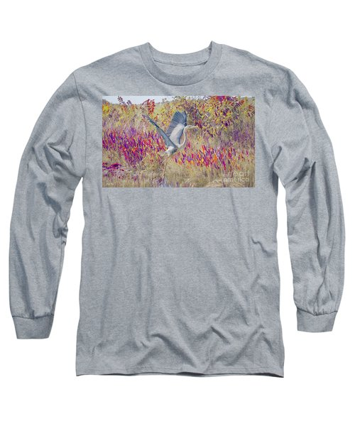 Fly Fly Away Long Sleeve T-Shirt by Judy Kay