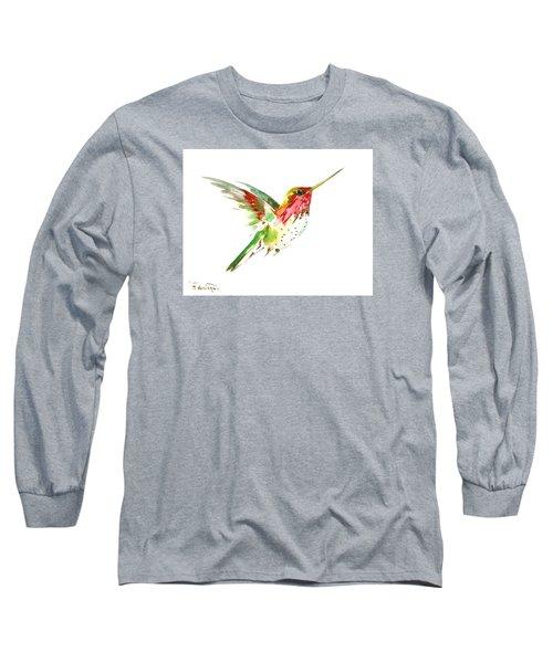 Flying Hummingbird Long Sleeve T-Shirt