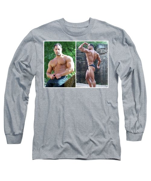 Long Sleeve T-Shirt featuring the photograph Franco Corelli by Jake Hartz