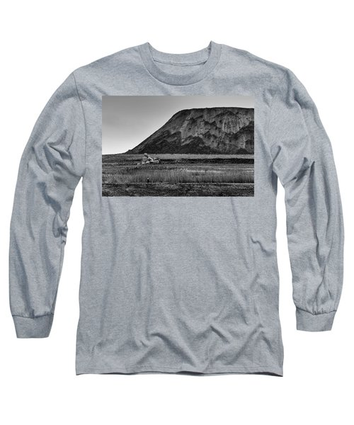 Long Sleeve T-Shirt featuring the photograph Fresh Kills by Steven Richman