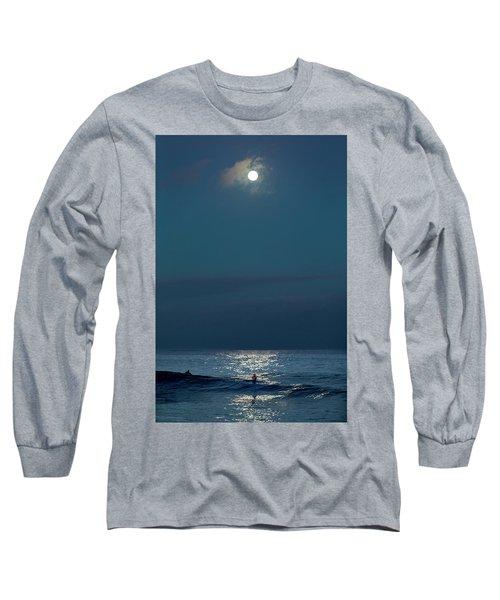 Full Moon Shimmer. Long Sleeve T-Shirt