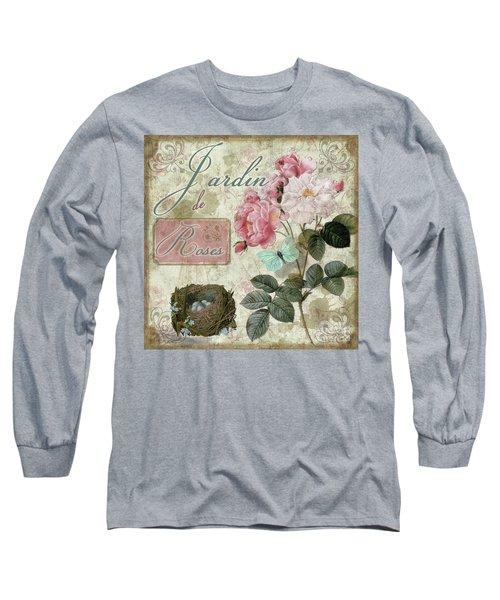 Jardin De Roses Long Sleeve T-Shirt