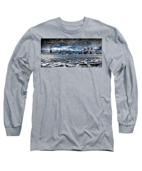 La Major Vue Des Dentelles Du Mucem Long Sleeve T-Shirt