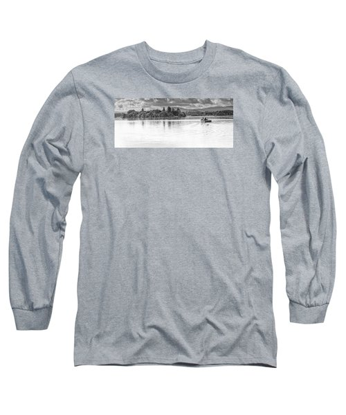 Lake Of Menteith Long Sleeve T-Shirt by Jeremy Lavender Photography