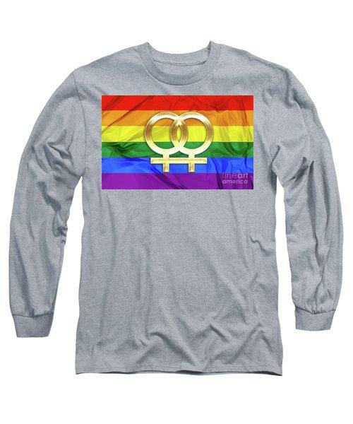 Lesbian Symbols Long Sleeve T-Shirt