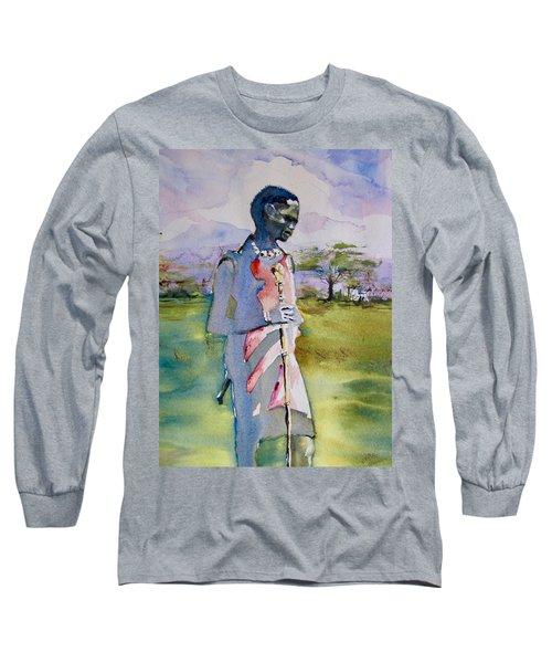 Masaai Boy Long Sleeve T-Shirt