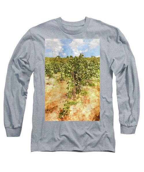 Napa Vineyard In The Spring Long Sleeve T-Shirt