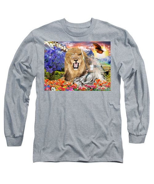 Long Sleeve T-Shirt featuring the digital art Perfect Peace by Dolores Develde