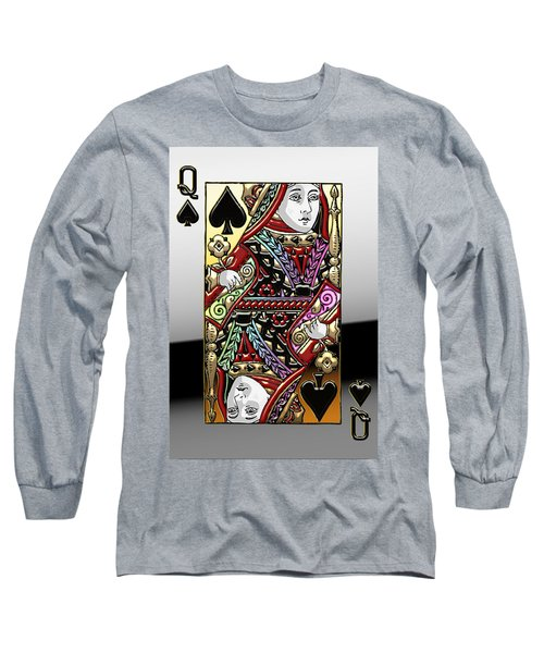 Queen Of Spades  Long Sleeve T-Shirt