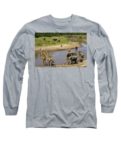 River Crossing Long Sleeve T-Shirt