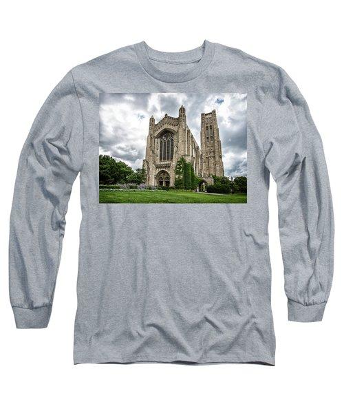 Rockefeller Chapel Chicago Long Sleeve T-Shirt