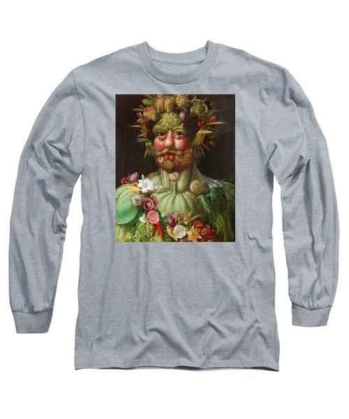 Rudolf II Of Habsburg As Vertumnus Long Sleeve T-Shirt