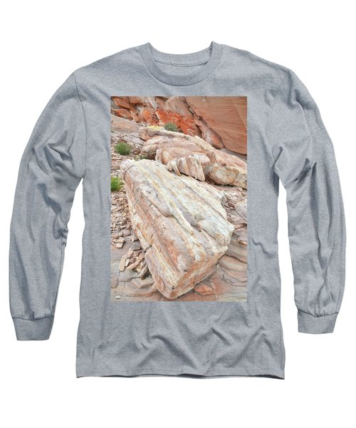 Long Sleeve T-Shirt featuring the photograph Sandstone Slope In Valley Of Fire by Ray Mathis