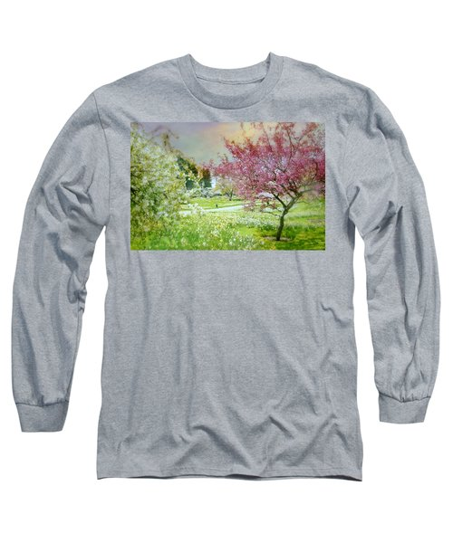 Long Sleeve T-Shirt featuring the photograph Solitude by Diana Angstadt