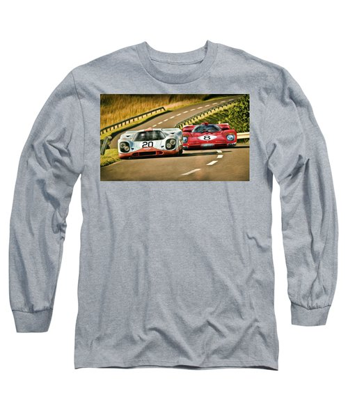 The Duel Long Sleeve T-Shirt by Peter Chilelli