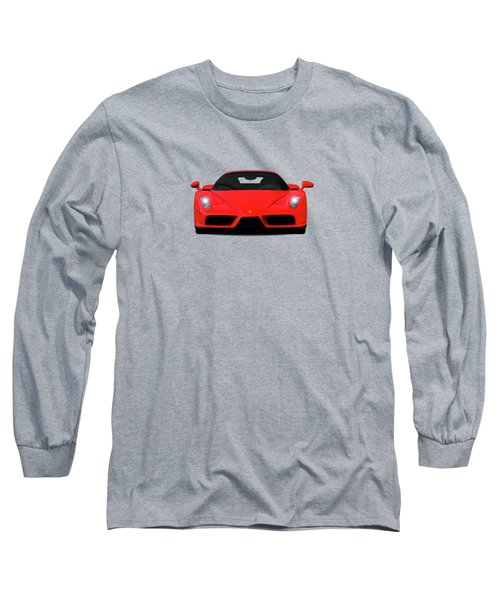 The Ferrari Enzo Long Sleeve T-Shirt by Mark Rogan