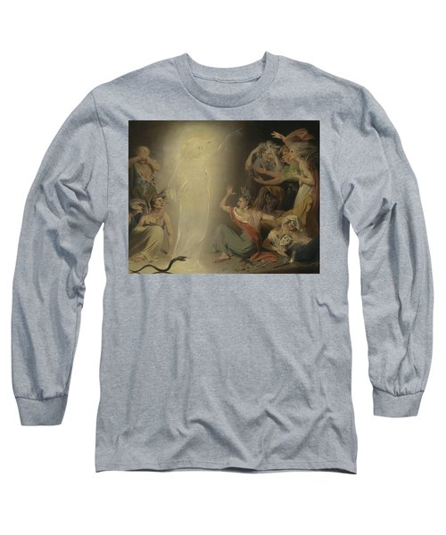 The Ghost Of Clytemnestra Awakening The Furies Long Sleeve T-Shirt
