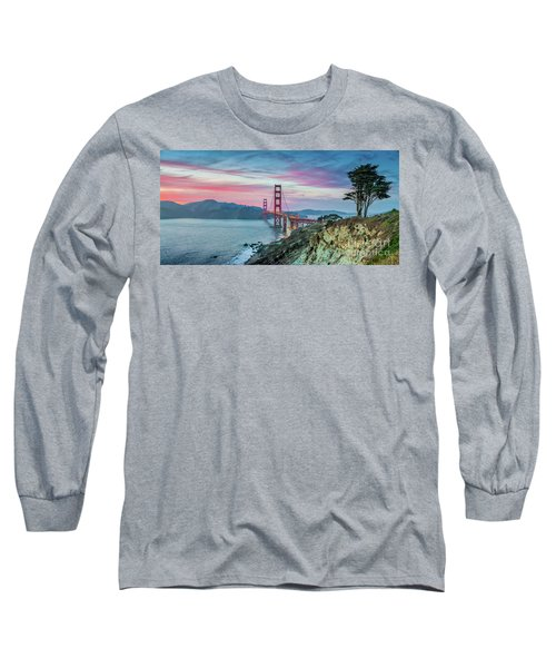 The Golden Gate Long Sleeve T-Shirt by JR Photography
