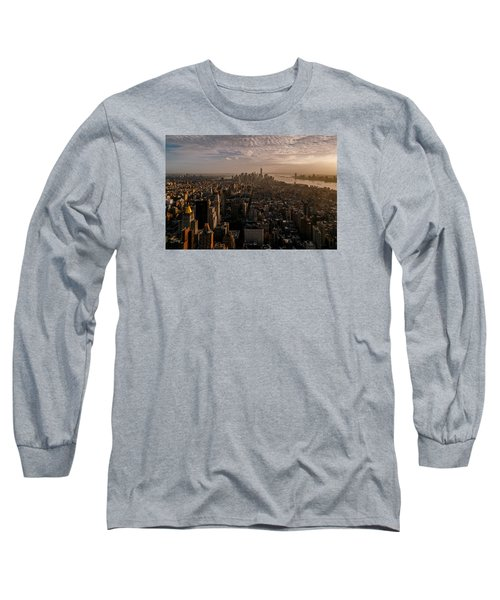 Long Sleeve T-Shirt featuring the photograph The View  by Anthony Fields