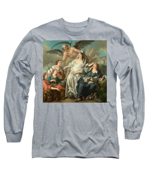 Time Unveiling Truth Long Sleeve T-Shirt