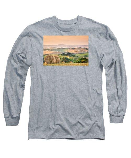 Tuscany Morning Long Sleeve T-Shirt