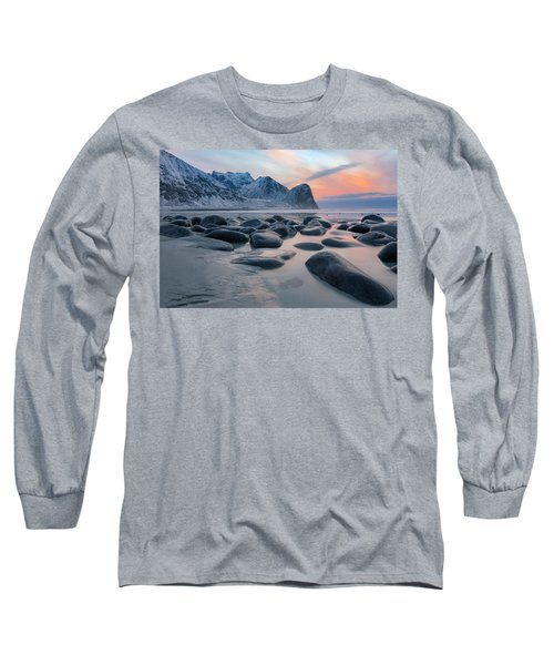 Unstad, Lofoten - Norway Long Sleeve T-Shirt