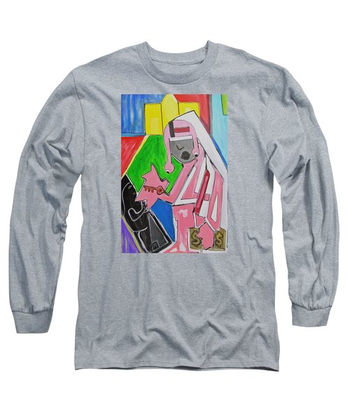 Untitled Long Sleeve T-Shirt by Jose Rojas
