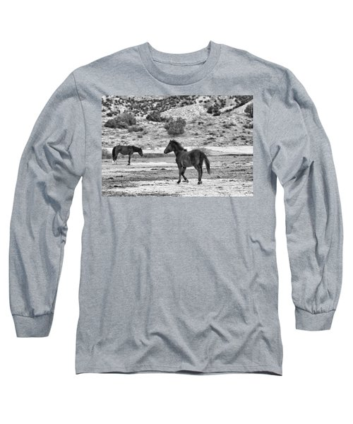 Virginia Range Mustangs Long Sleeve T-Shirt