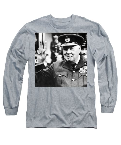 Winston Churchill Long Sleeve T-Shirt