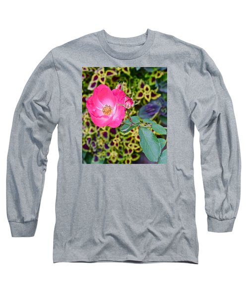 2015 Fall Equinox At The Garden Hello Fall Long Sleeve T-Shirt