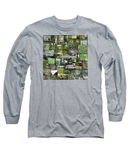 2015 Pdga Amateur Disc Golf World Championships Photo Collage Long Sleeve T-Shirt by Robert Glover