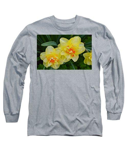 2015 Spring At The Gardens Tango Daffodil Long Sleeve T-Shirt