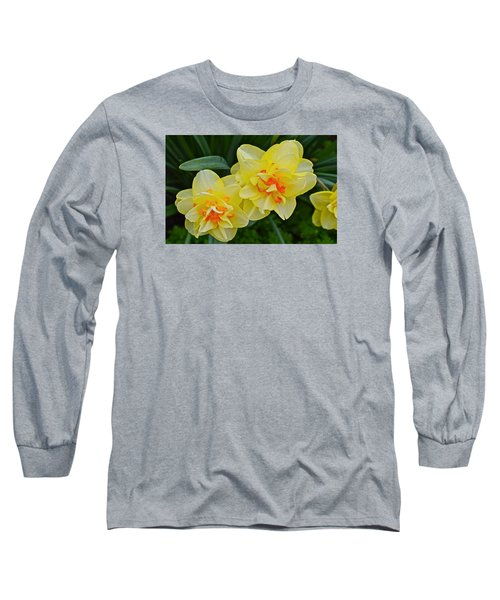 2015 Spring At The Gardens Tango Daffodil Long Sleeve T-Shirt