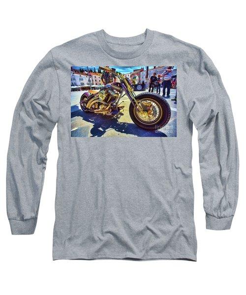 2016 Custom Harley Winner Long Sleeve T-Shirt