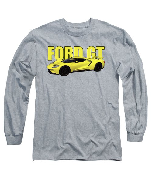 2018 Ford Gt Watercolour Whatta Ride Long Sleeve T-Shirt