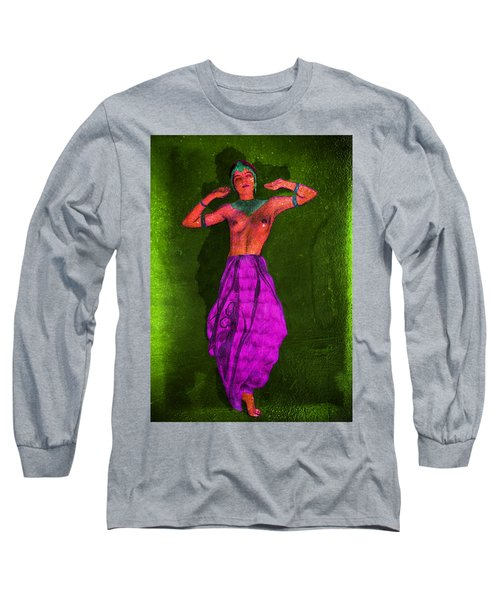 Nude Woman Long Sleeve T-Shirt