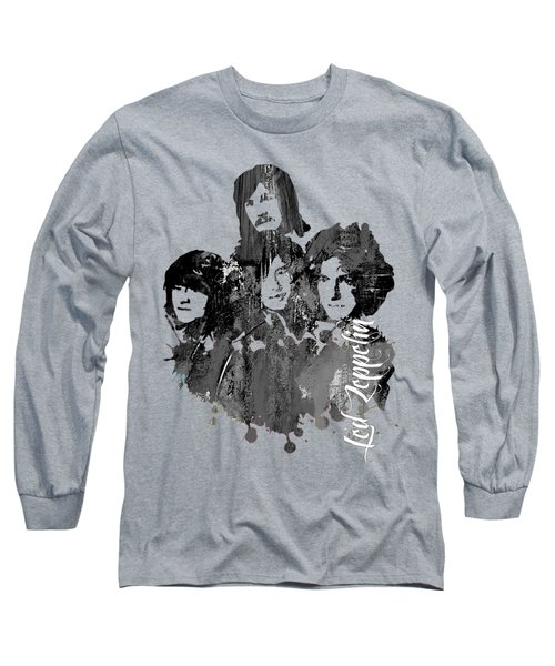 Led Zeppelin Collection Long Sleeve T-Shirt by Marvin Blaine