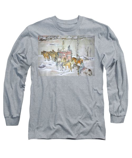 the ole' West my way album Long Sleeve T-Shirt