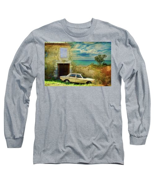 24 Hr Parking By The Beach Long Sleeve T-Shirt