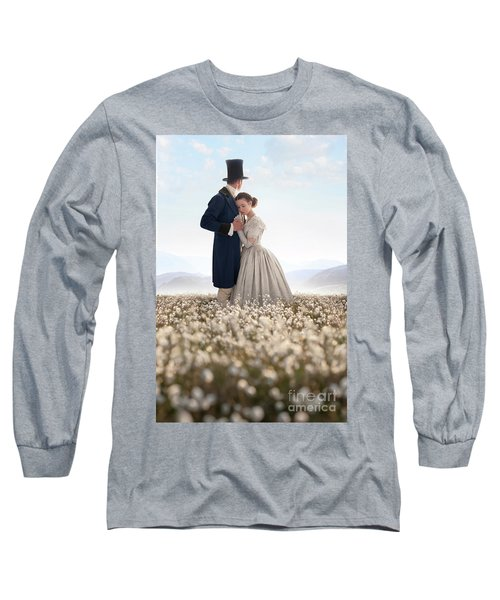 Victorian Couple Long Sleeve T-Shirt by Lee Avison