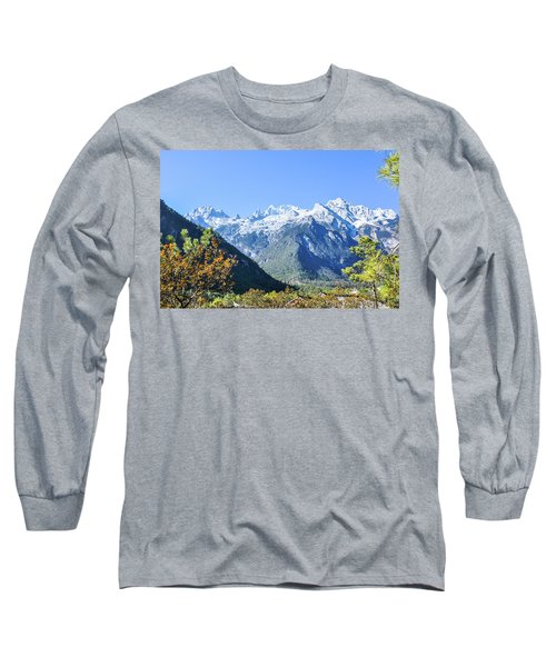 The Plateau Scenery Long Sleeve T-Shirt