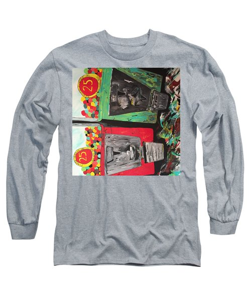 25cts Long Sleeve T-Shirt by Olivier Calas